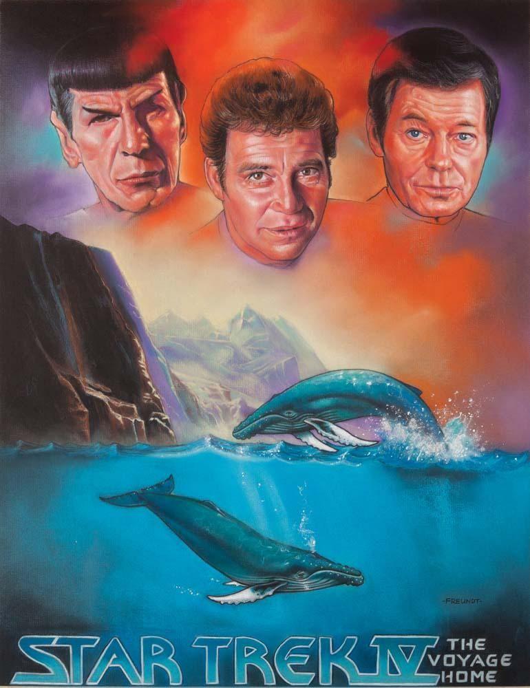 Image result for star trek the voyage home poster