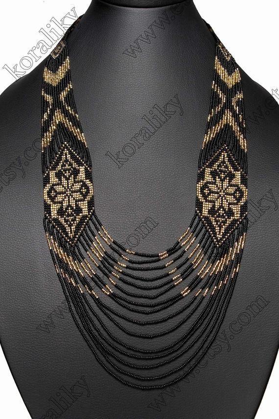 Articles similaires à Traditionnelle ukrainienne populaire fait à la main perles collier Long Gerdan. sur Etsy #articles #Collier #Etsy #fait #gerdan #long #main #perles #populaire #similaires #sur #traditionnelle #ukrainienne