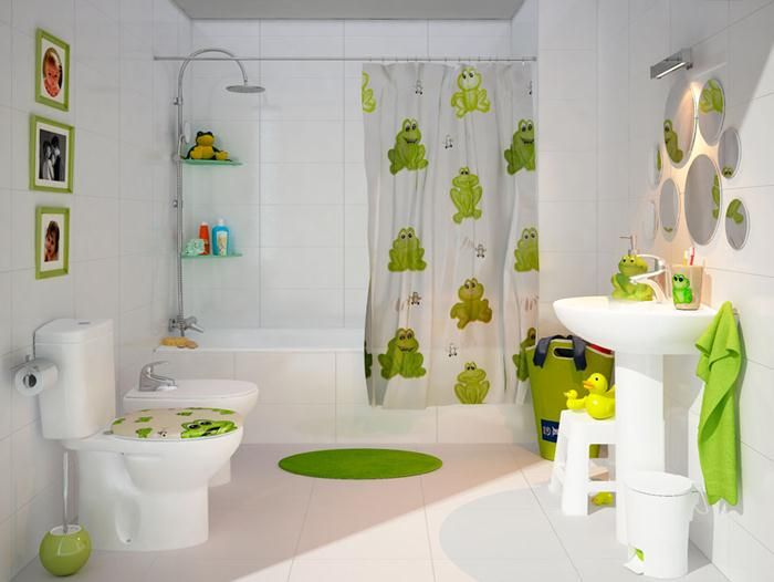 24 Cute Kids Bathroom Sets Decoration Ideas On Budget You Can Copy Decor In 2020 Bathroom Kids Bathroom Themes Kids Bathroom Colors
