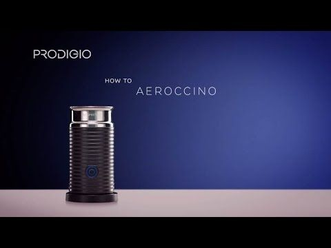 How To Use your Aeroccino with Prodigio & Milk