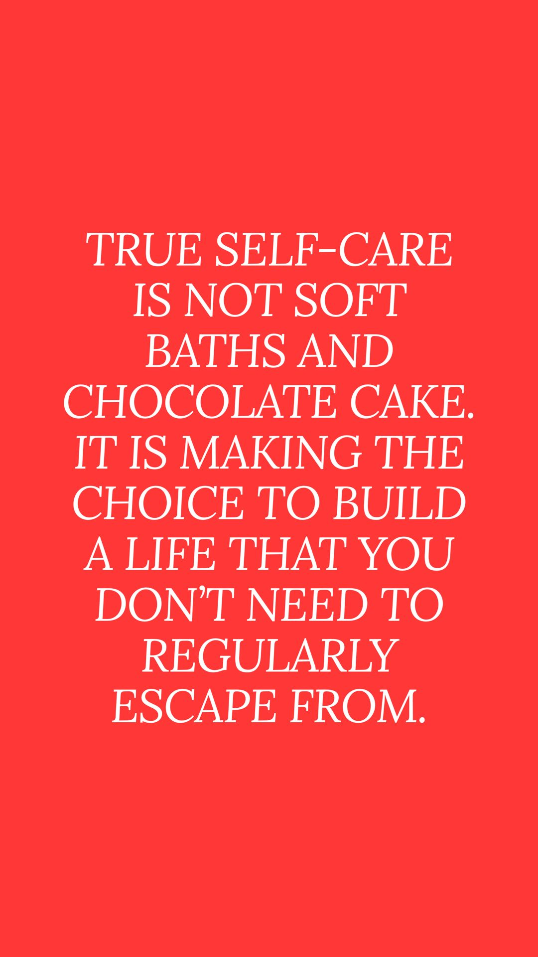 Self Care Quotes Red Quotes Daily Quotes Insightful Quotes
