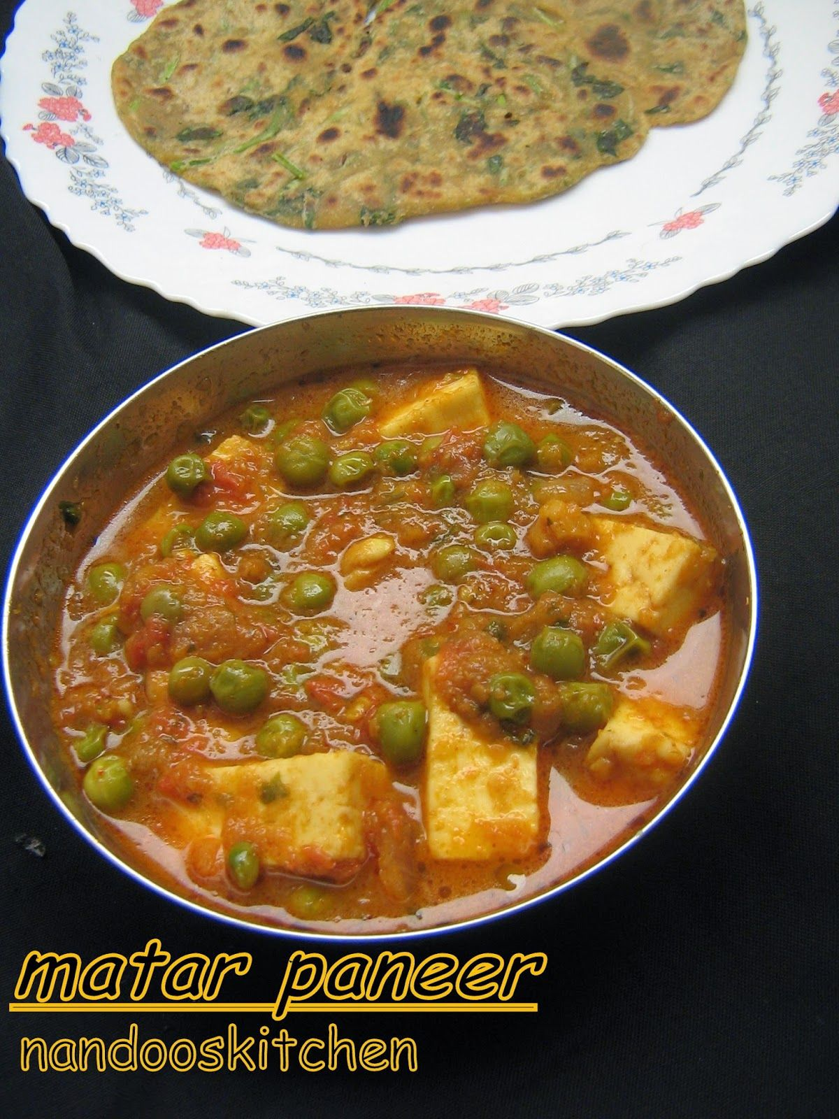 how to make matar paneer at home