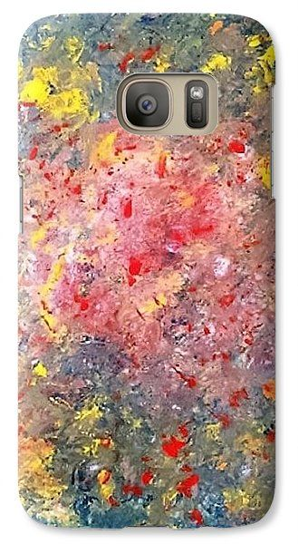 Abstract (modern art): A design by Kelly Goss Art printed onto Samsung Galaxy cases - directly onto and wrapped around the edges. For various Galaxy models. Impact-resistant, hard-shell.