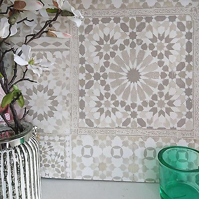 Details zu Marrakesh Wiedergewonnen Mosaik Gemustert Fliesen-effekt - fliesen tapete küche