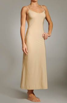 f0fbcd7dbe206 Only Hearts Gown Length Slip with Spaghetti Straps- perfect for all those  semi sheer maxi dresses!