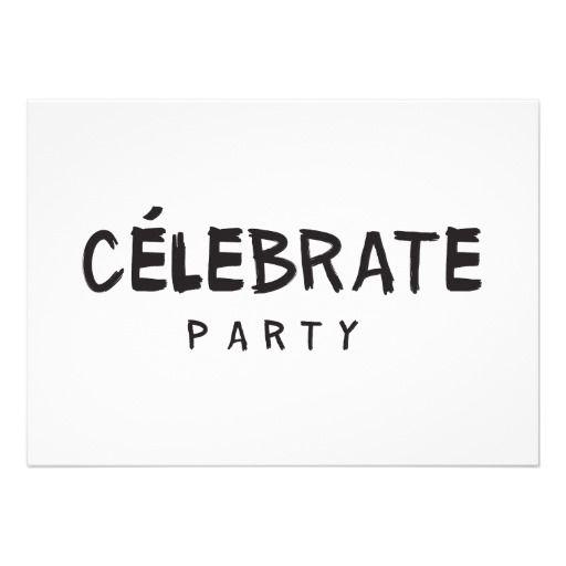 Celine Look Fashion Theme PARTY Birthday Invitation Fashion Modern #Birthday #Fashion #Chanel #Paris #SweetSixteen #BridalShower #Celebrate #Party #CelineParis #Céline