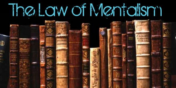 universal law of mentalism