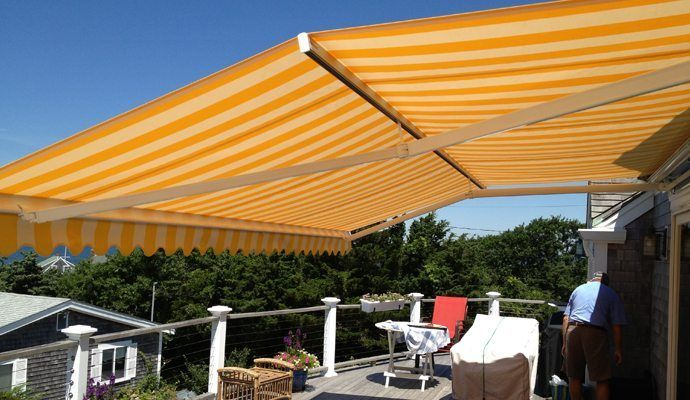 Our Somfy Motorized Retractable Awnings Let You Safely Enjoy Your Outdoor  Space With Style And Fashion.