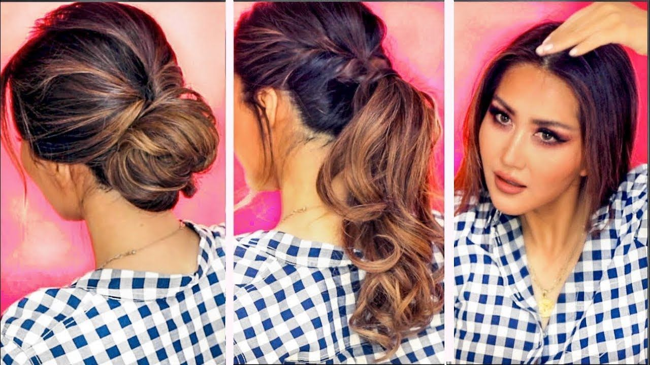 min everyday hairstyles for work with puff hair stuff tested