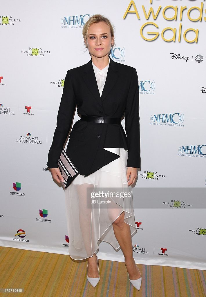Diane Kruger attends the 17th Annual NHMC Impact Awards Gala held at Regent Beverly Wilshire Hotel on (February 28, 2014) in Beverly Hills, California.