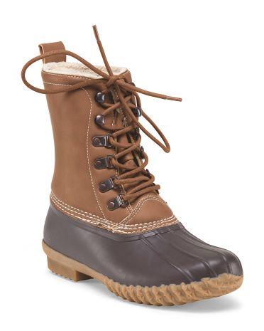 e11a0f9907e TJ Maxx: ESPRIT Harbour Lace Up Duck Boot! Just bought these ...