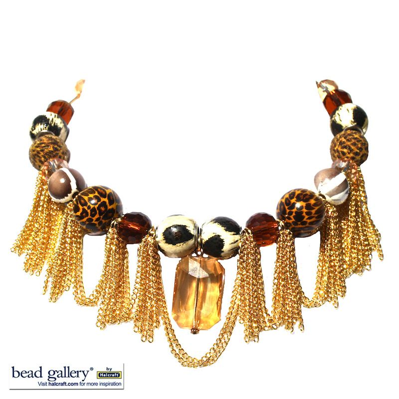DIY Instructions to make your own African Queen #Necklace using ...