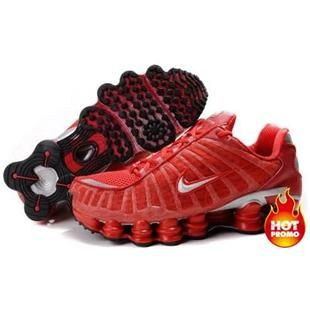 on sale 7474f 32ba5 Womens Nike Shox TL1 Full Red