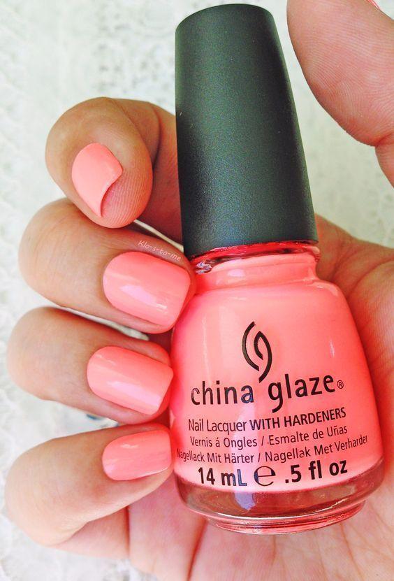 China Glaze Loves A Beach Skin care #fallcolors