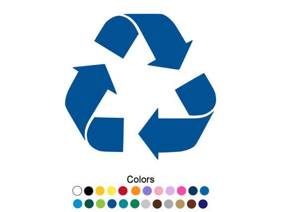 Recycle Logo Vinyl Decal Sticker CAR Window Laptop Renew Reuse