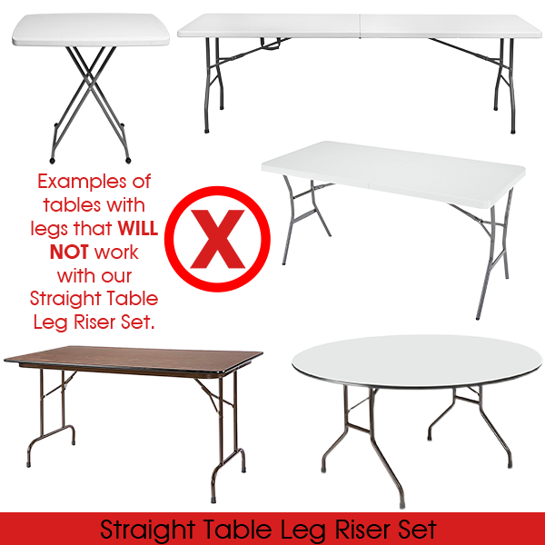 Table Risers Folding Table Legs Folding Table Table Legs