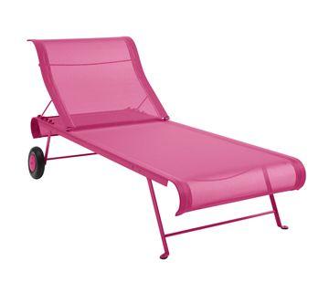 Dune Sunlounger Fabric Chaise Longue Otf Outdoor Furniture Sun Lounger Outdoor Furniture Fermob