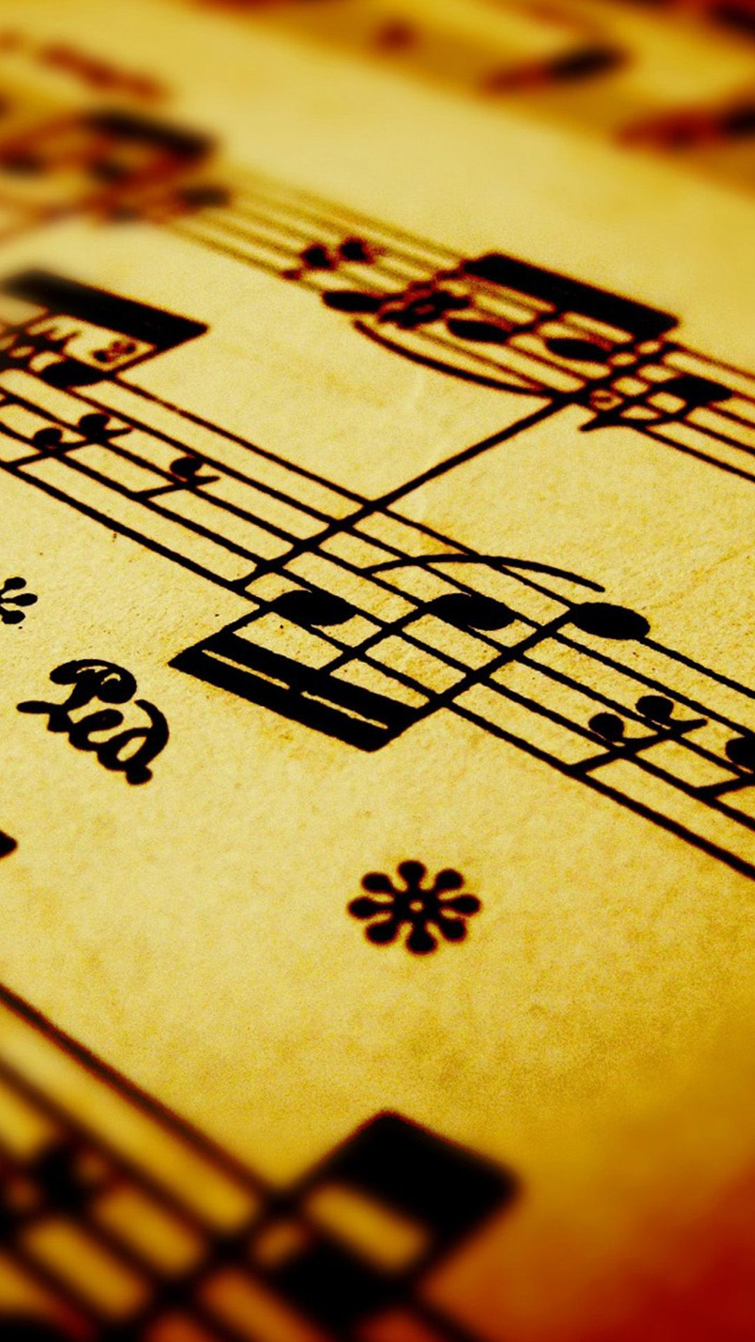 Compose Music Note Background #iPhone #6 #wallpaper | iPhone 6~8 Wallpapers