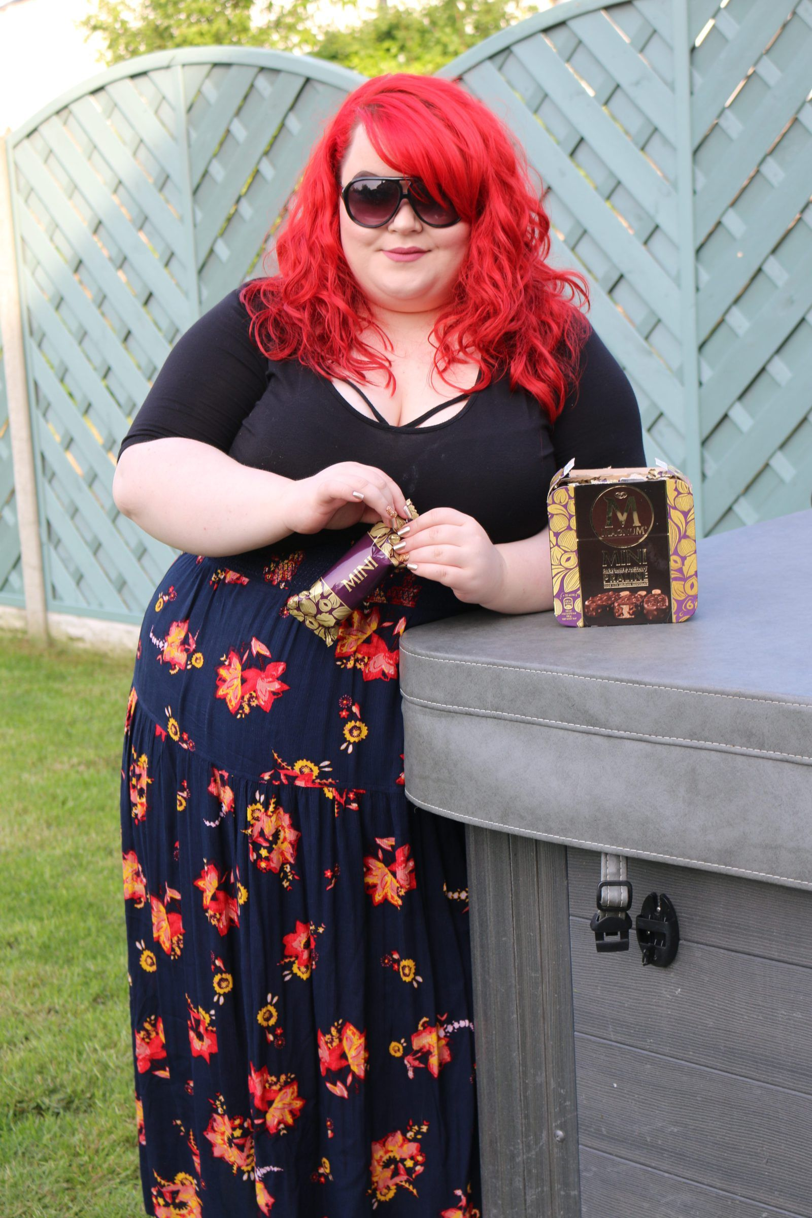 Have thought georgina bbw red head can