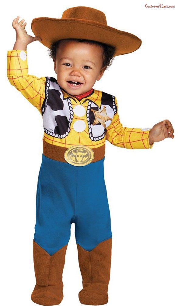 Disney Store Woody Stretchie Costume Pajamas 18//24 M Toy Story Play Set Baby Boy