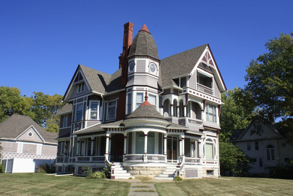 Awesome Queen Anne House Plans Historic 2021 Queen Anne House Romanesque House Plans