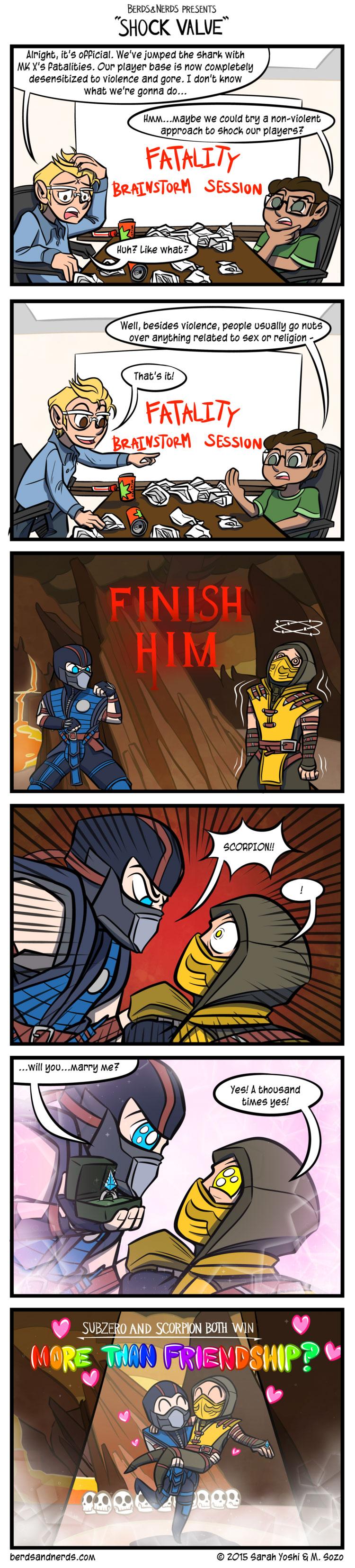 Shock Value Mortal kombat, Mortal kombat comics, Funny games