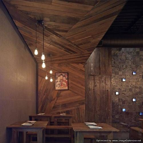 Wood Wall Design Ideas wood designs on walls google search Contemporary Outdoor Restaurant Bar Designs Wood Retaining Wall Design Ideas