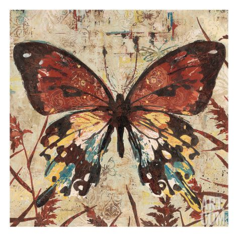 Butterfly Beauty 2 Giclee Print by Melissa Pluch at Art.com