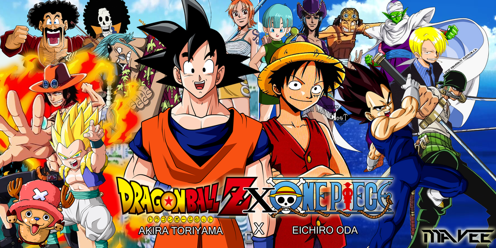 New Dragon Ball X One Piece Special Releasing Update Jump Festa Panel Dragon Blog Z Anime Anime Crossover One Piece Manga