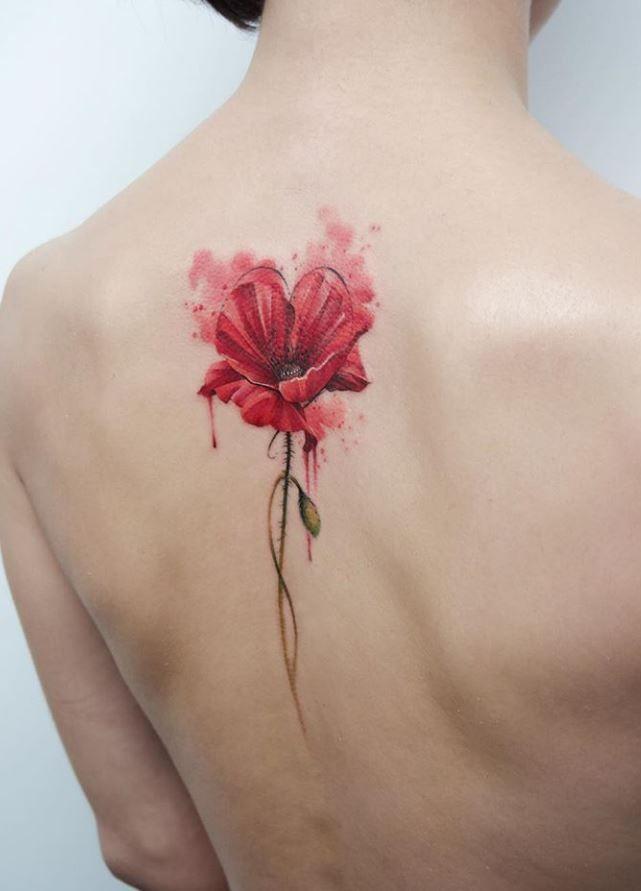 Poppy Flower Tattoo Tattmaniatattmania In 2020 Cool Tattoos Tattoo Designs For Women Best Tattoo Ever