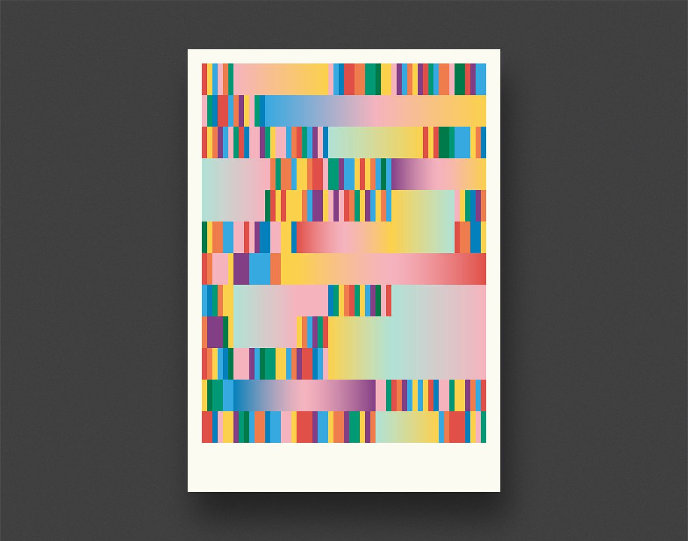 Geometric Colour Posters on Behance