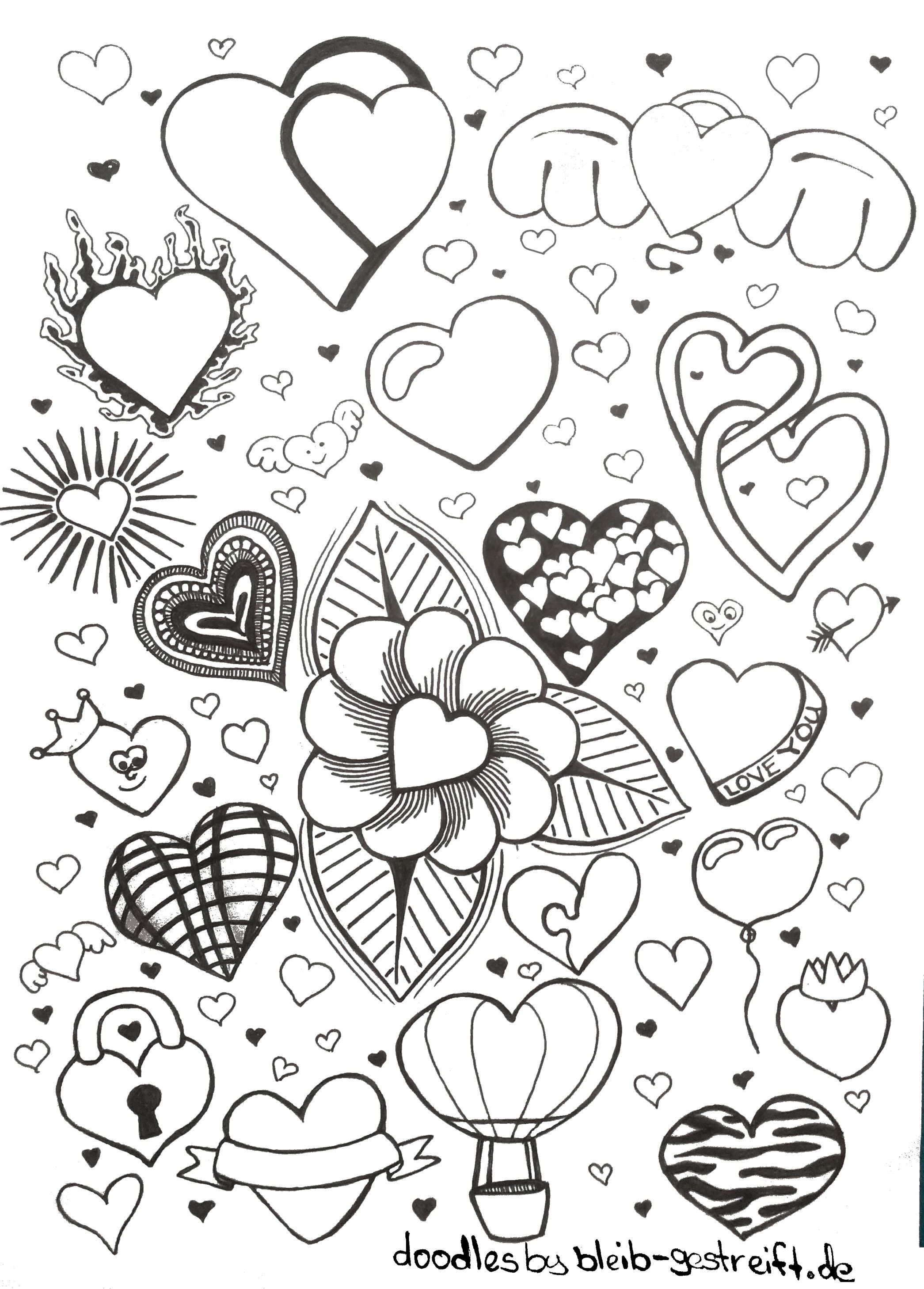 Most Current Free Coloring Pages Doodles