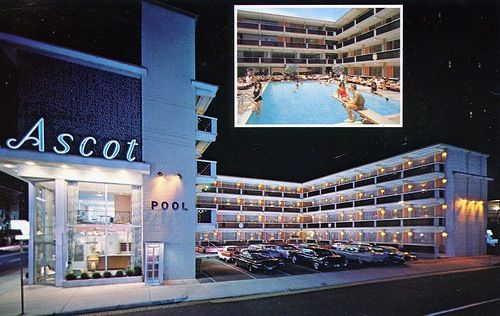 Ascot Motel Iowa Ave Beach Block Atlantic City Nj Atlantic City Hotel Motel City