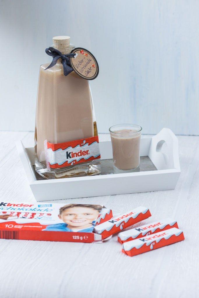 Kinder-Schokolade-Likör (nur für Erwachsene!) - Kochliebe