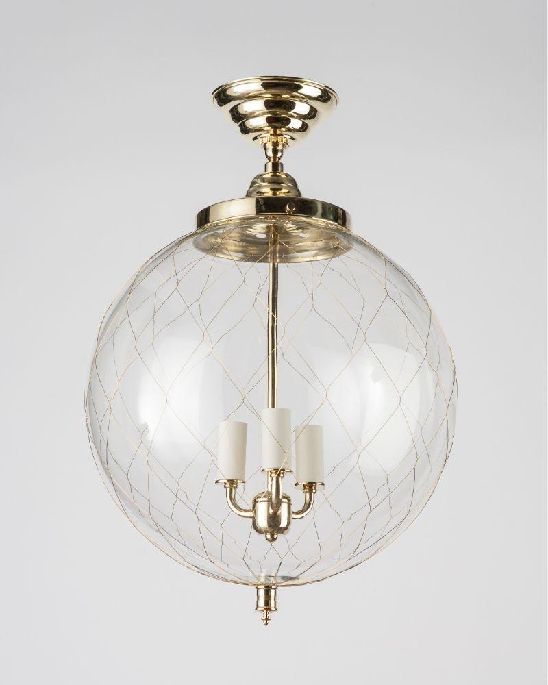 Sorenson 14 Lantern In Burnished Brass Finish