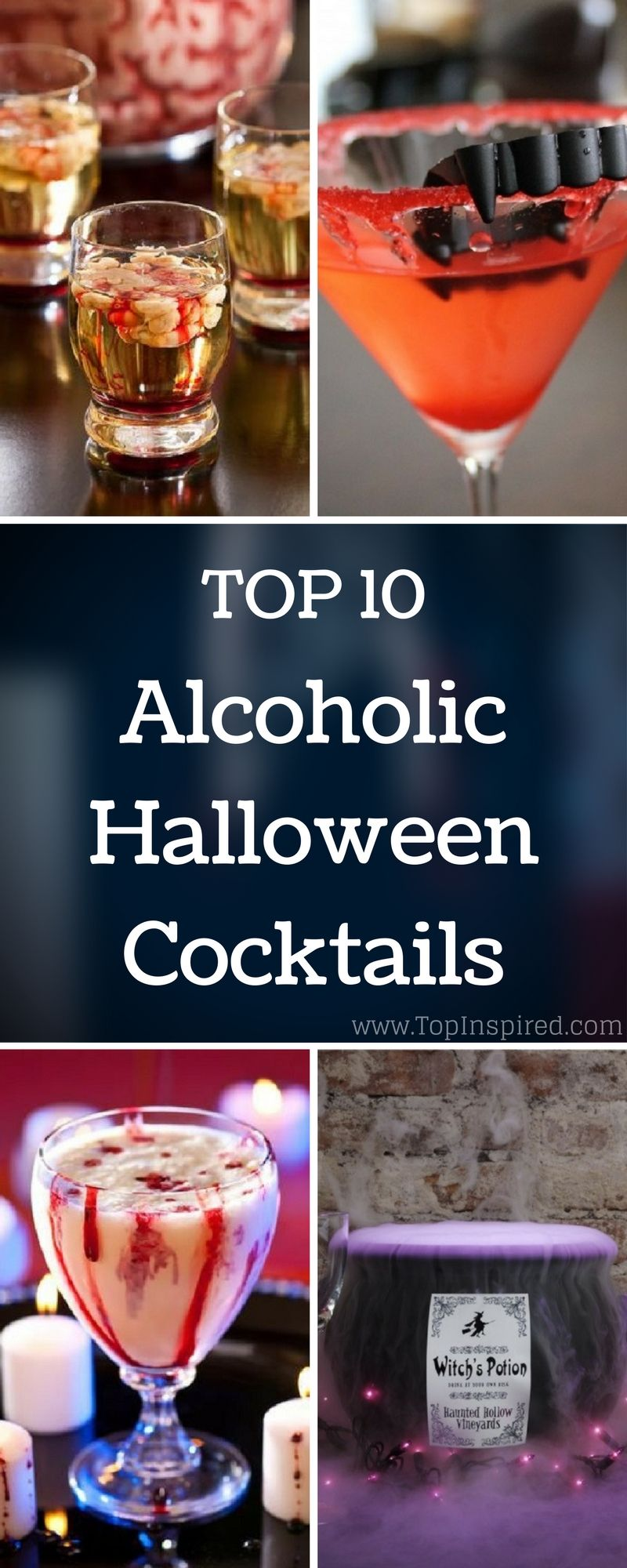 Top 10 Alcoholic Halloween Cocktails Halloween Cocktails
