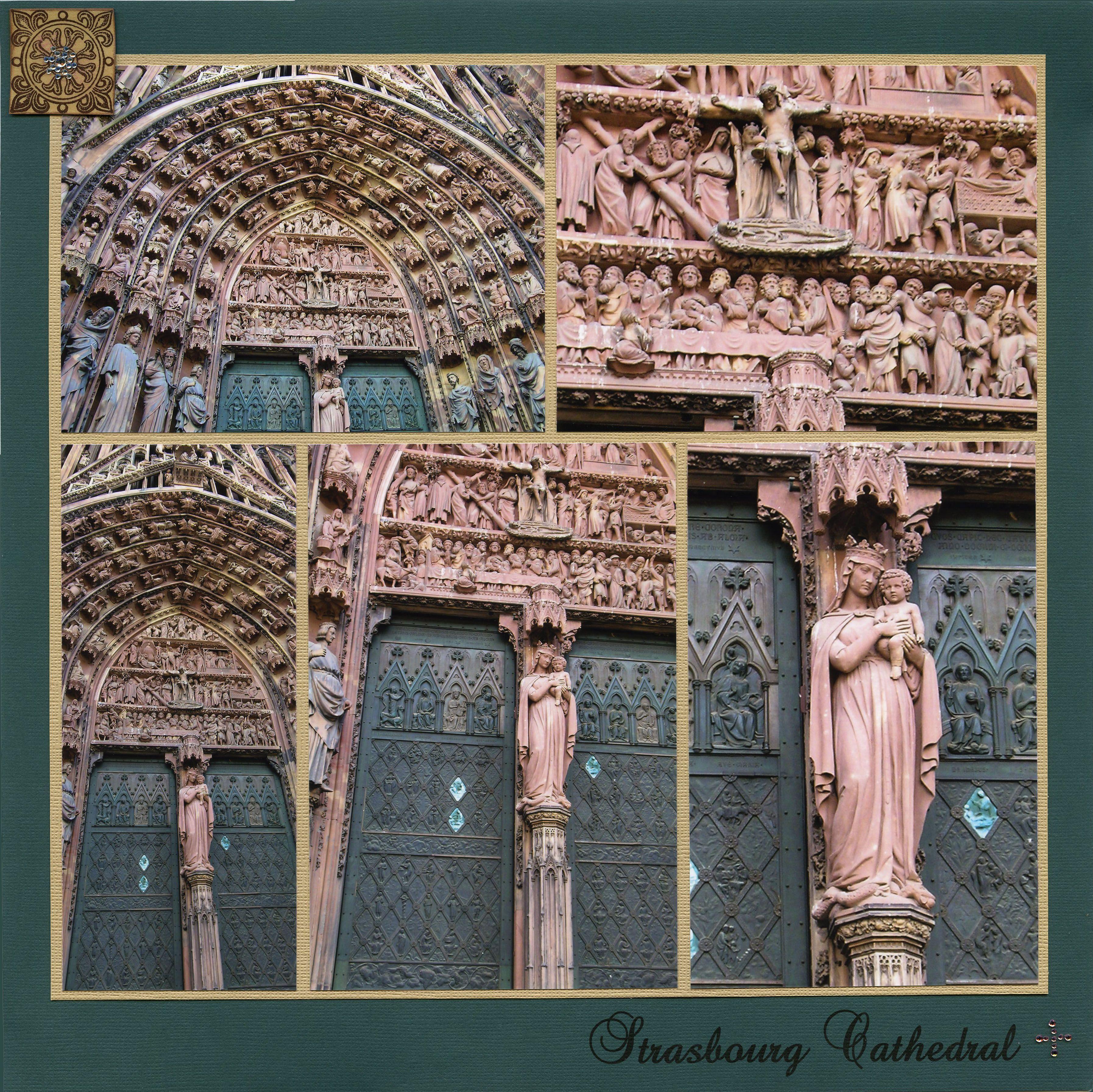 Scrapbook ideas hawaii - Strasbourg Cathedral Scrapbook Com Painted Church Hawaii