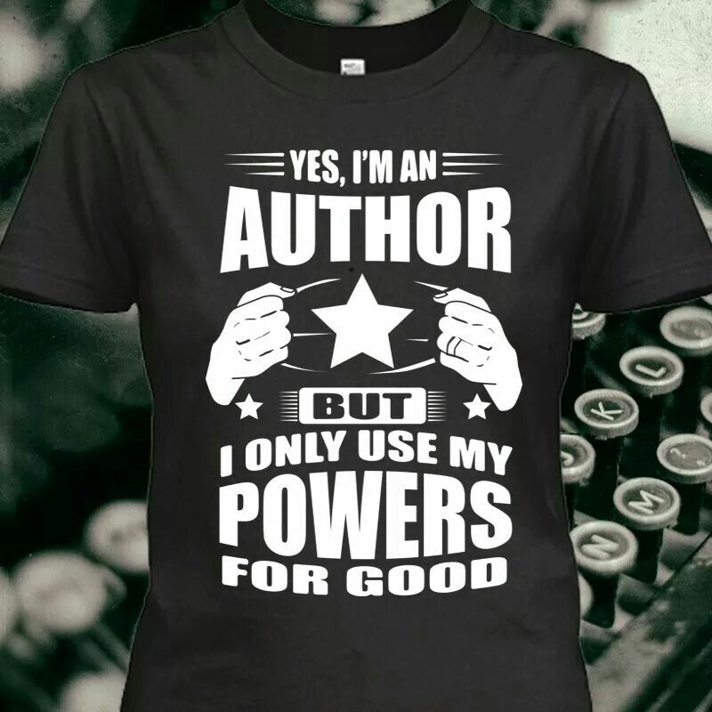 Yes, I am an author!