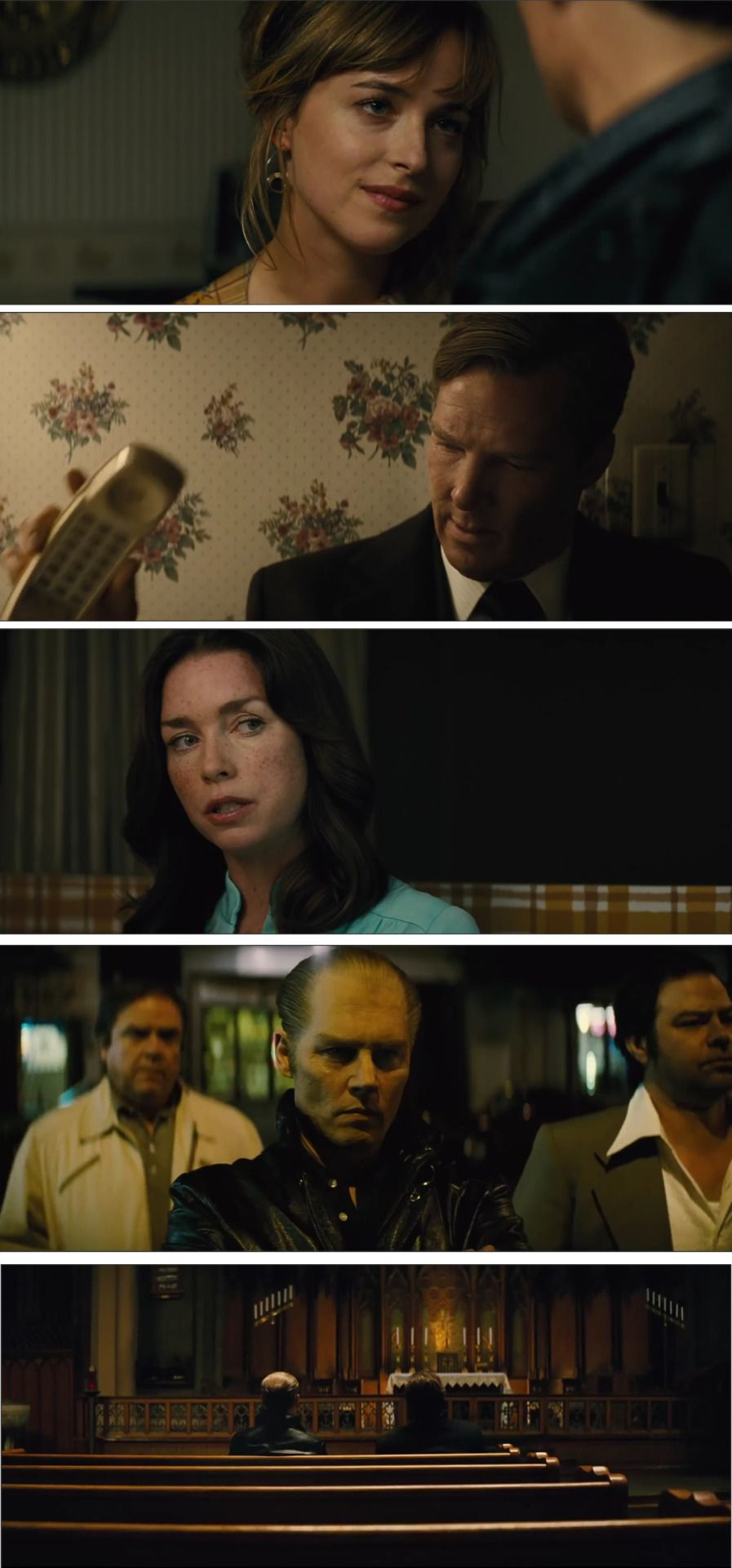 black mass cinema photography and color grading