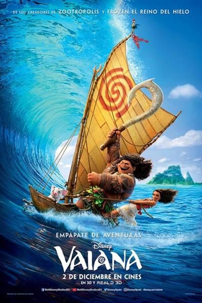 Una gran comedia de aventuras acerca de una enérgica adolescente que se embarca en una misión audaz para salvar a su pueblo. Durante su travesía, Moana, se encuentra con el alguna vez todopoderoso semidiós Maui, quien la guía en su aventura para convertirse en una experta navegante. Juntos atravesarán el océano en un viaje lleno …