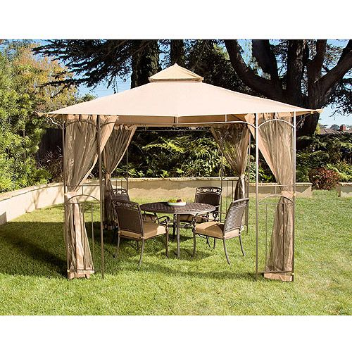Garden 12 X 10 Patio Gazebo With Optional Netting Attachment $249 Walmart