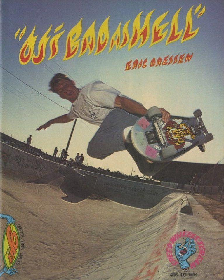 Tbt Culver City Ditch 87 Ojwheels Cbkatz Graphic Poster Skate Art Old School Skateboards