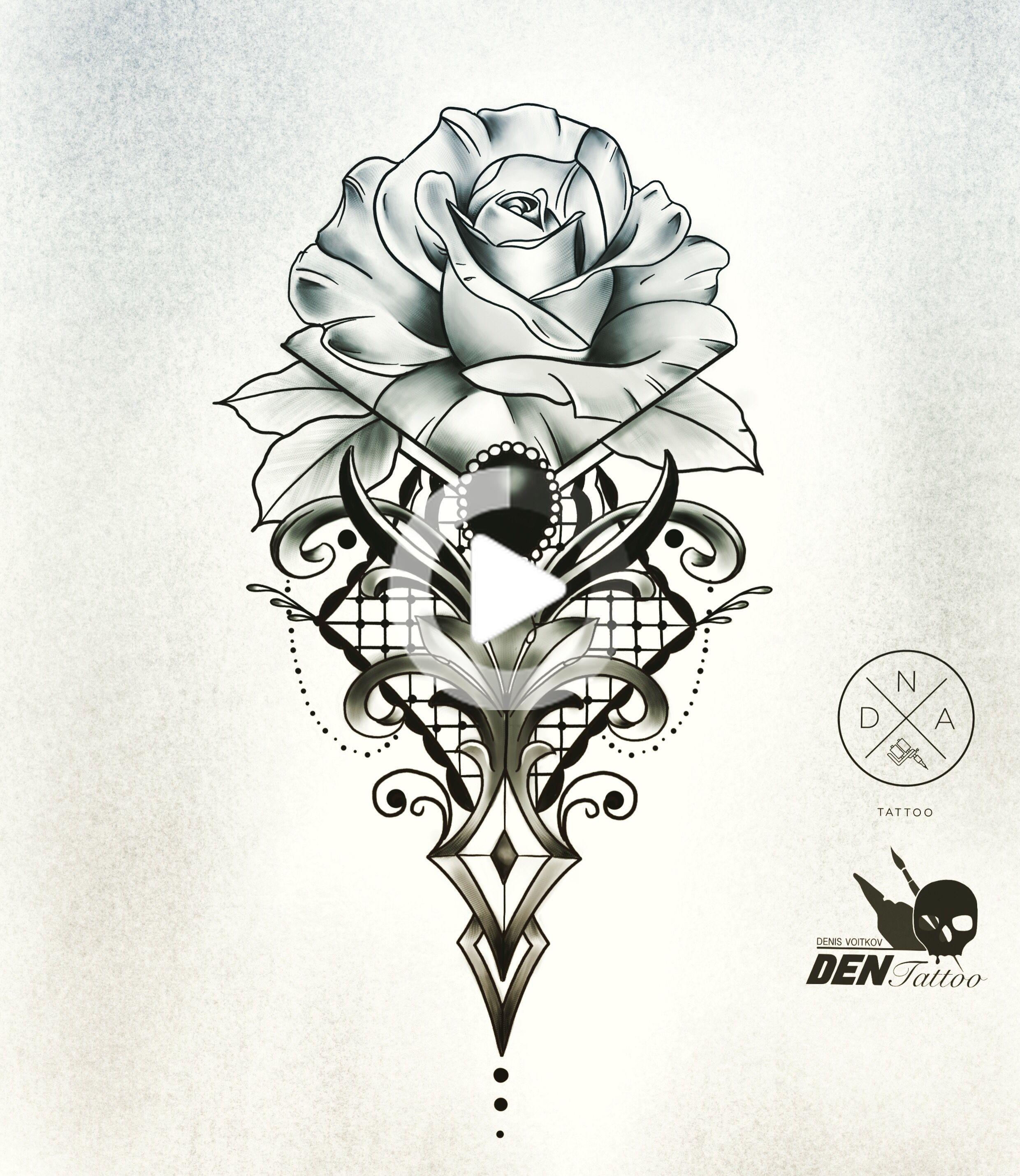 Tatuaze Gdansk Adn Tatouage Voitkov Tatouage Tattoo Gdansk Sleeve Tattoos Rose Tattoo Stencil Rose Tattoos