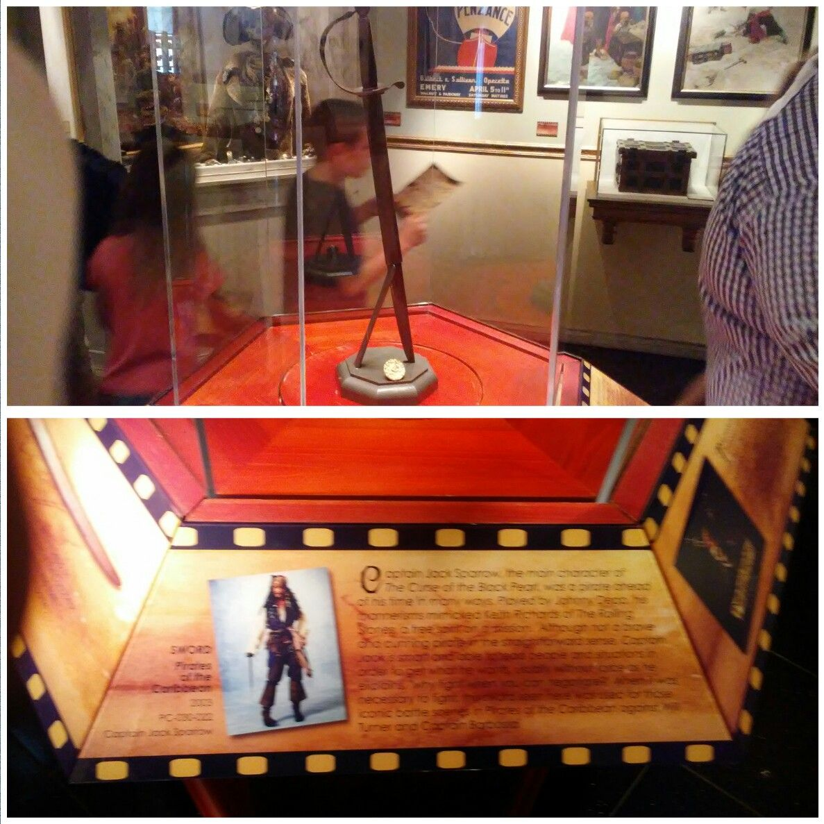 """Jack Sparrow's Pirate Sword from """"The Pirates of the Caribbean""""!"""