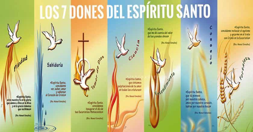 Los 7 Dones Del Espiritu Santo Son Sabiduria Entendimiento Consejo Fortaleza Conocimiento Piedad Y Dones Del Espiritu Libro De Proverbios Espiritu Santo