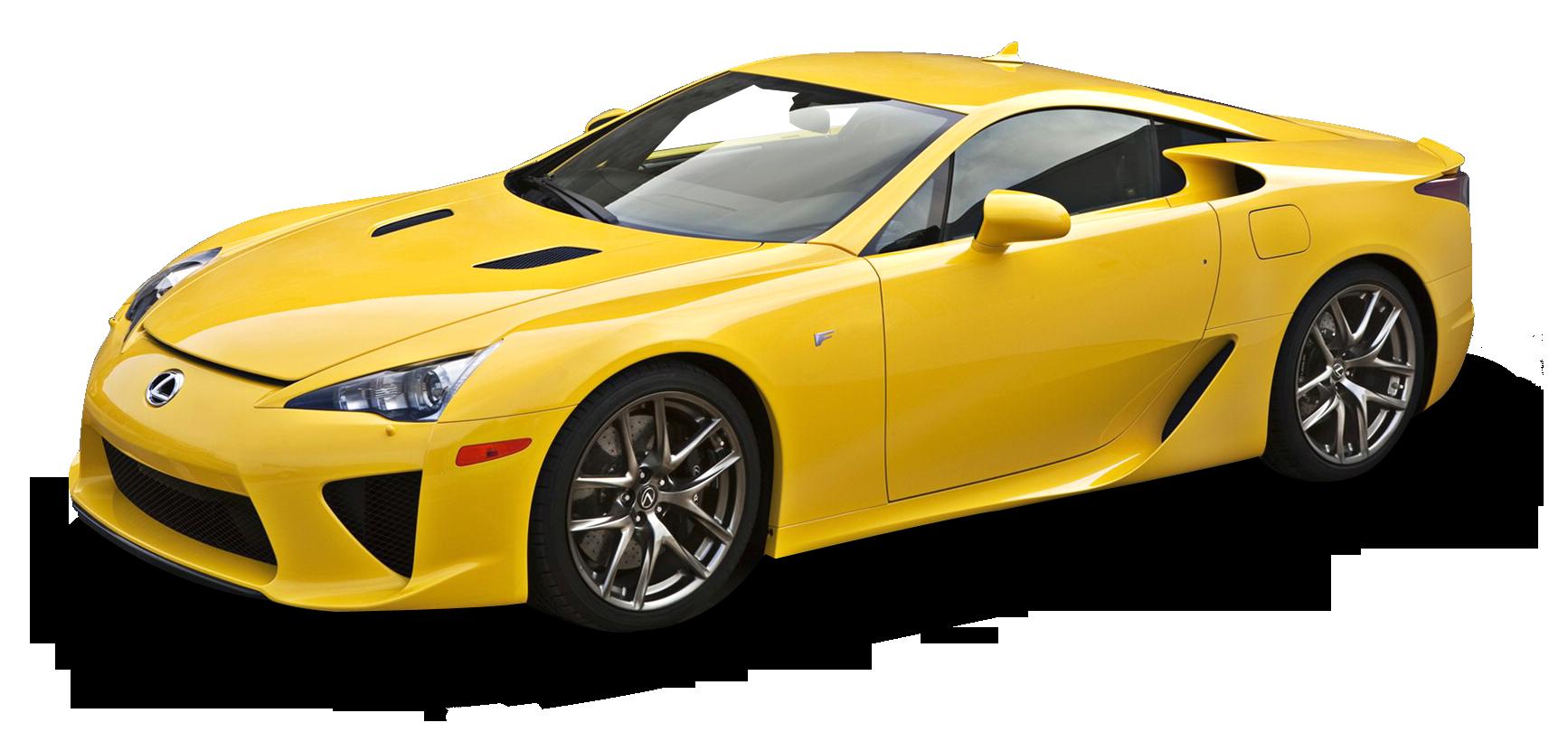 Yellow Lexus Lfa Car Png Image Lexus Lfa Lexus Car