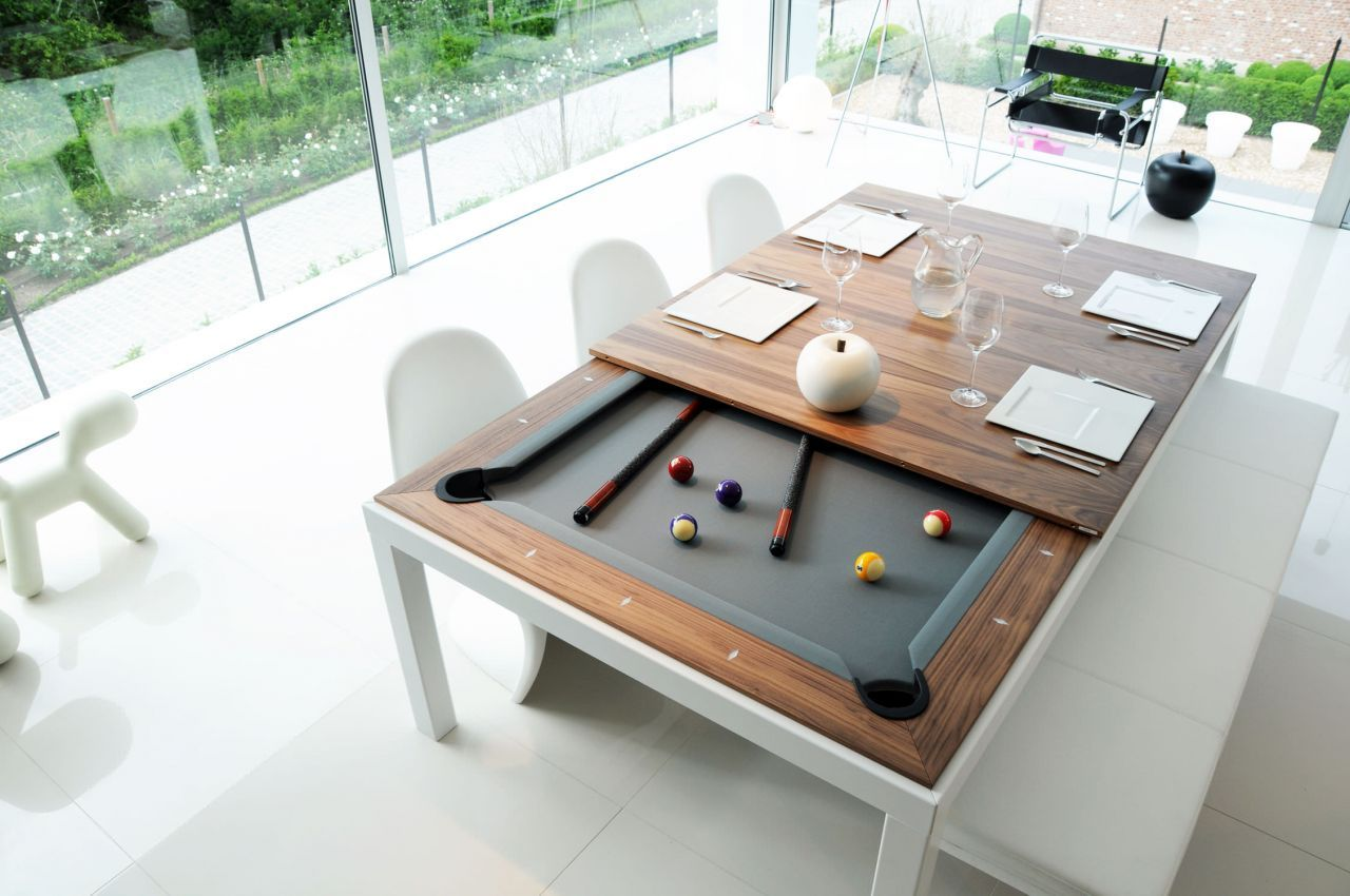 Pool Table And Dining Table  Dining Rooms  Pinterest  Pool Mesmerizing Dining Room Pool Table Review