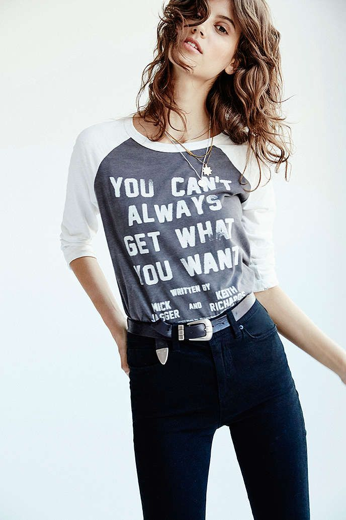 Lyric Culture Cant Always Get What You Want Tee - Urban Outfitters