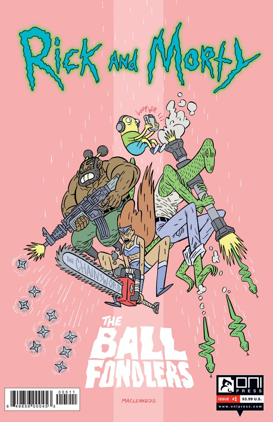 RICK and MORTY 6 Ball Fondlers by Andrew-Ross-MacLean | NDRW