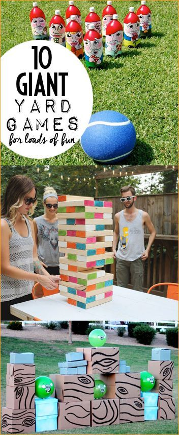 Giant Yard Games For Giant Amounts Of Fun Board Games Diy Giant